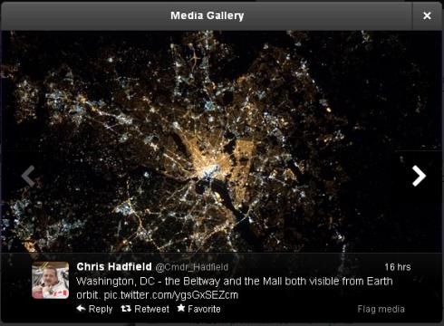 Chris Hadfield  Cmdr_Hadfield  on Twitter